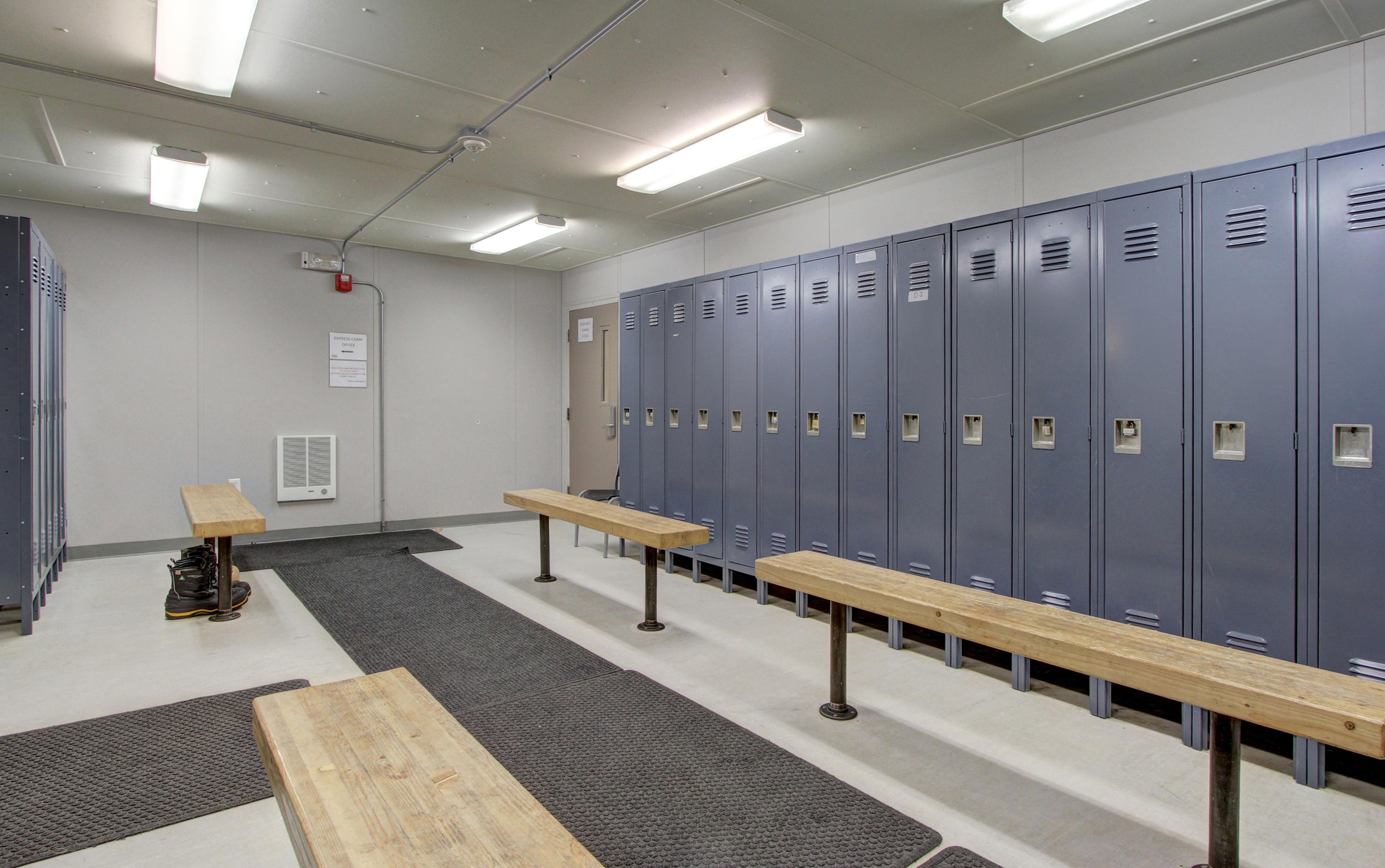 Express Camp Locker Room
